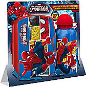 Spider-Man Gift Set - Lunch Box and Flask