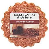 Yankee Candle Simply Cinnamon Melt