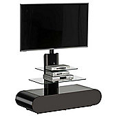 Maja 1635 Black Cantilever TV Stand