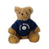 Happy Birthday Bear with Blue Guernsey Sweater