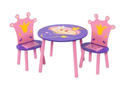 First Baby Safety Princess Table and Chair Set