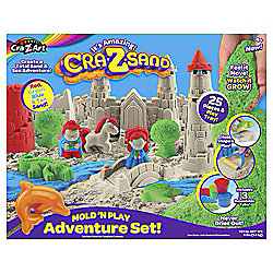 Cra-z-sand Mold and Play adventure Set