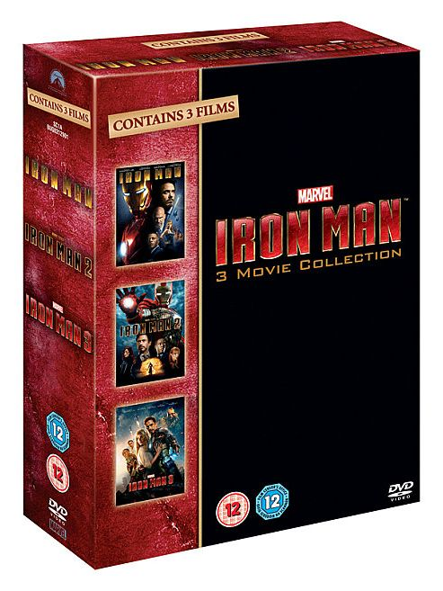 Iron Man 1-3 Collection (DVD Boxset)