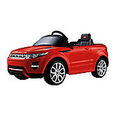 Range Rover Evoque - 12V Licensed Electric Ride On Car - Red