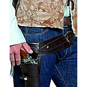 Adult Western Wandering Gunman Belt And Holster