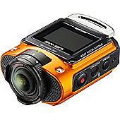 Ricoh WG-M2 Action Camera 8MP FHD MicroSD WiFi - Orange