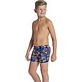 Speedo Boys Allover Print 48 Aquashort - Multi