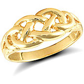 9ct Solid Gold Filigree design Ring