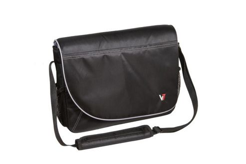V7 Professional Messenger Bag (Black) for Upto 16 inch Notebooks