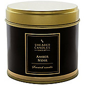 Shearer Amber Noir Tin Candle