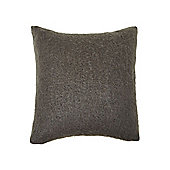 Cosy Knit Cushion - Charcoal