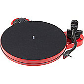 Project RPM 1 Carbon Turntable With Ortofon 2M Red Cartridge (Gloss red)
