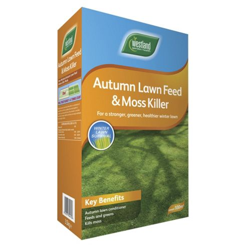 Autumn Lawn Feed & Moss Killer Box