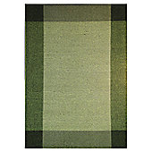 InRUGS Ellora Green Woven Rug - 230cm x 160cm (7 ft 6.5 in x 5 ft 3 in)