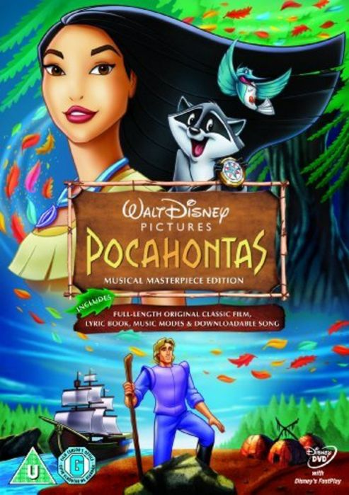 Disney: Pocahontas (DVD)