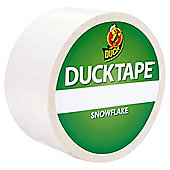 Duck Tape Colours Snow Flake 9.1m