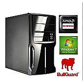 Spire PC Micro ATX AMD Sempron 2650 (1.45Ghz) 4GB RAM 500GB HDD