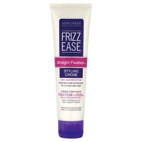 John Frieda Frizz Ease Straight Fixation Styling Crème 100ml