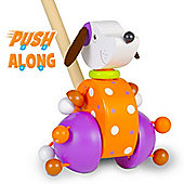 Fiesta Crafts Dog Push Along