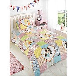 Rapport Kids Fairy Patchwork Single Quilt Set