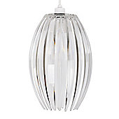 Castas Transparent Ceiling Pendant Shade in Clear