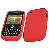 iTALKonline 18504 SoftSkin Silicone Case - BlackBerry 8520 Curve, 9300 3G - Red