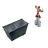 WWE Rumblers - Smack Attack Playset with The Miz Mini Figure - Mattel