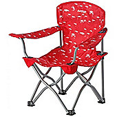 Vango Little Venice Folding Camping Chair Red