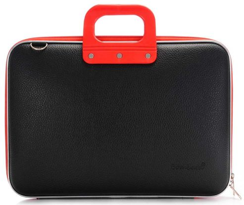 Bombata Blackline Black and Red 15 inch Laptop Case