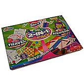 Grafix Mega 2-In-1 Pack Fun Travel Activity Kit And Scrapbook Kit