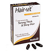 HealthAid Hair-vit 30 Capsules