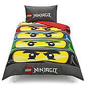Lego Ninjago Single Duvet Set