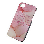 Tortoise™ Hard Protective Case, iPhone 4/4S, Pink, Lifes Sweet
