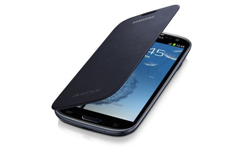 Samsung Original Flip Case for Galaxy S3/SIII - Titan Silver