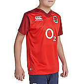 England Kids Rugby Alternate Pro SS Shirt 2015/16 - Red