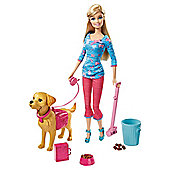 Barbie Potty Trainin' Taffy Barbie Doll and Pet Playset