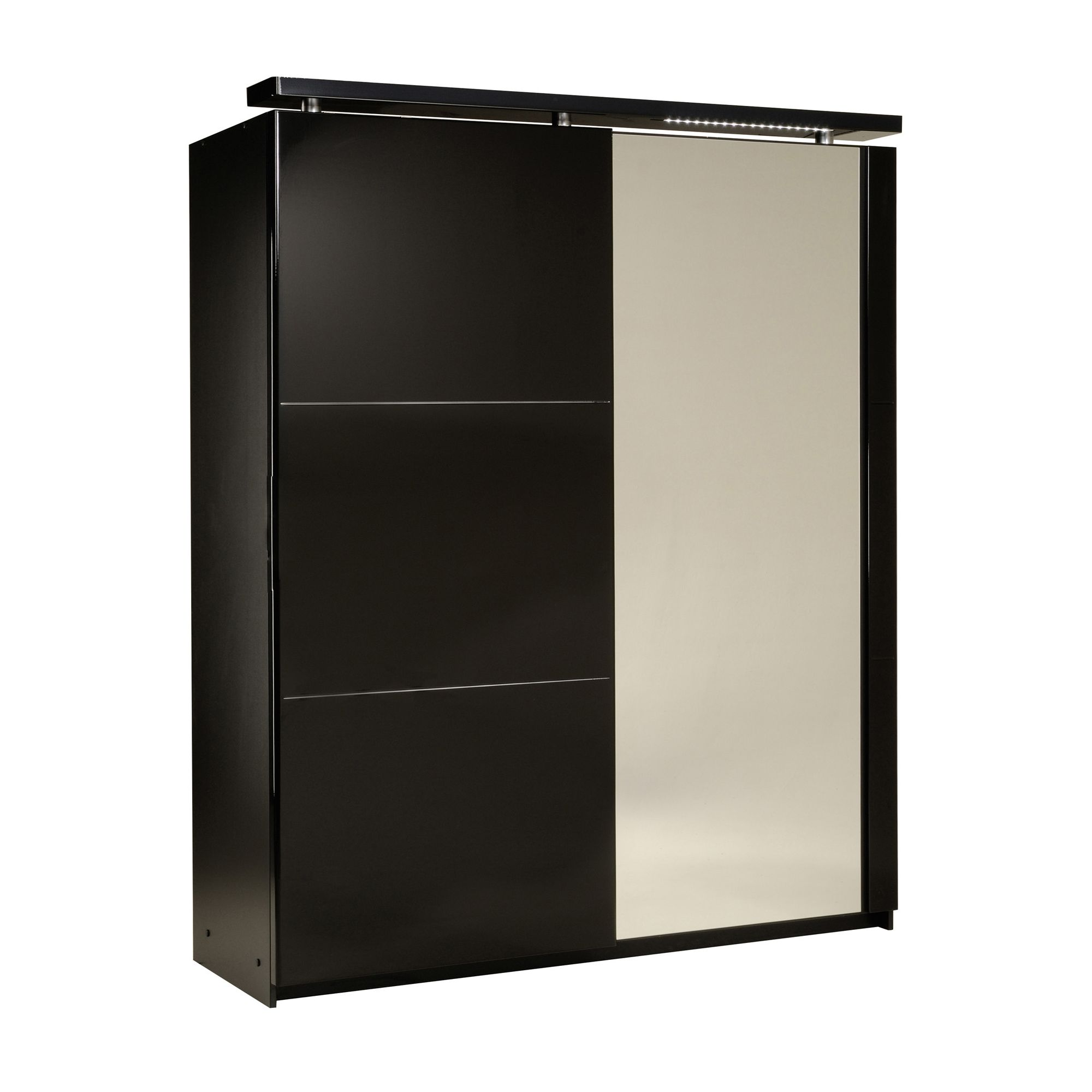 Parisot Ambyblack Sliding Door Wardrobe in Black at Tesco Direct