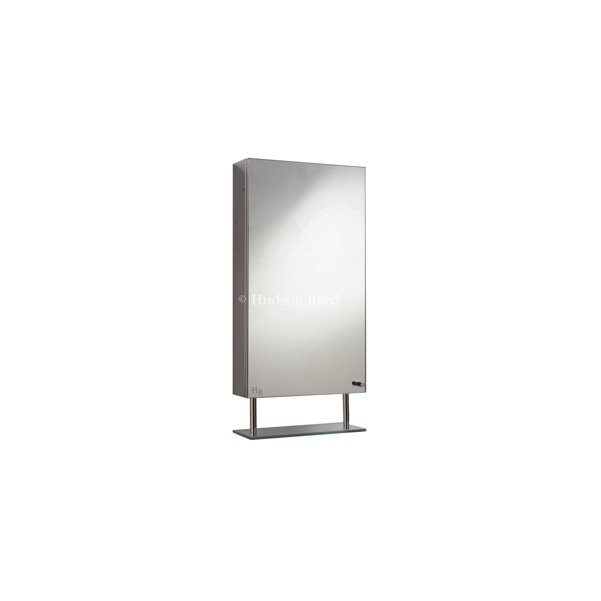 Tesco hudson reed baltimore single mirror cabinet for Bathroom cabinets tesco
