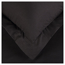 Oxford Pillowcase 100% Cotton - Black