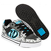 Heelys Motion Boys/Girls Roller Skating Shoe Trainer Choose Colours JNR 12-UK7 - Grey