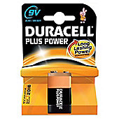 Duracell MN1604B1 Plus 9V Alkaline Batteries