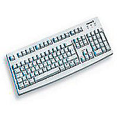Cherry G83-6105 Classic Line PS/2 Standard PC Keyboard - Grey