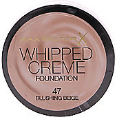 Max Factor Whipped Creme Foundation 18ml - Blushing Beige 47