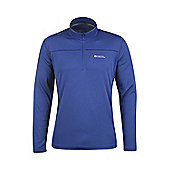 Mountain Warehouse Hiker Mens Long Sleeve Top - Electric blue