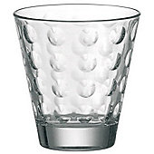 Leonardo Optic Tumblers, Transparent.
