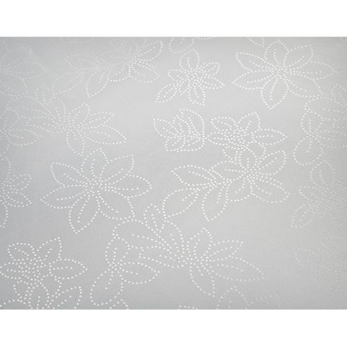 Blue Canyon Rosetta Set Table Cloth - 137cm x 137cm (4 Seatings) - White