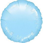 Pastel Blue Round Balloon - 18' Foil (each)