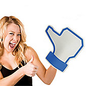Social networking Like Foam Hand