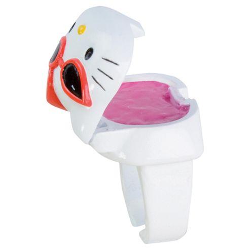 Hello Kitty Glitter Lip Gloss Rings 3 Pack