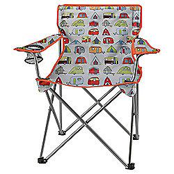Tesco Folding Camping Chair, Festival Theme
